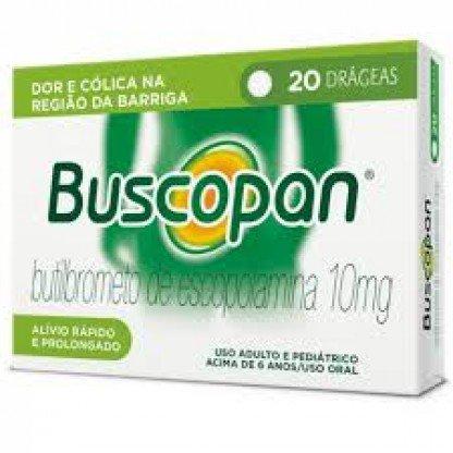 BUSCOPAN SIMPLES 20 DRAG.