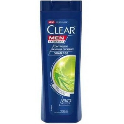 SH CLEAR A.CASPA MEN CONTR.COCEIRA 200ML