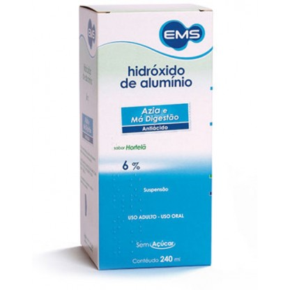 HIDROXIDO ALUMINIO SUSP.240ML EMS LIBER
