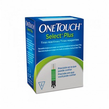 ONE TOUCH SELECT PLUS C/50 TIRAS