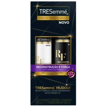 KIT TRESEMME  RECONS SH400ML+COND200ML
